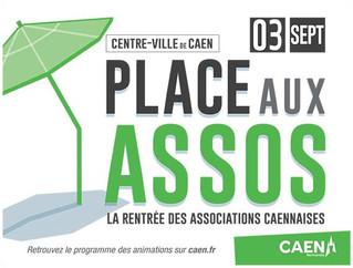 #Event - Place aux assos...Rendez-vous le 3 septembre à Caen