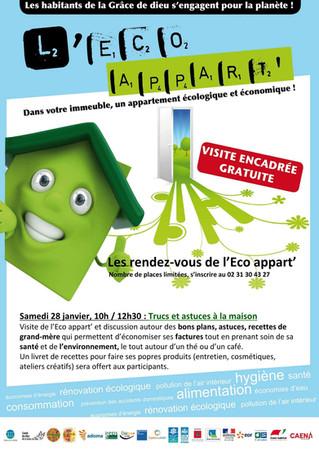 #EcoAppart - animation trucs & astuces à la maison le 28 janvier !