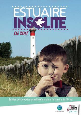 #EstuaireInsolite - le programme des sorties découverte dans l'Estuaire de l'Orne est en lig
