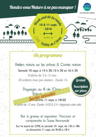 #SortieduWeekEnd - Prenez l'air de la Suisse Normande les 10 & 11 sept !