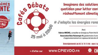 #CaféDébat - Adoptez les énergies renouvelables !