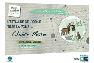 #Agenda - L'estuaire de l'Orne tisse sa toile, la nouvelle exposition temporaire de la Maiso