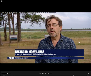 #RevueDePresse - le CPIE sur France 3 Basse Normandie