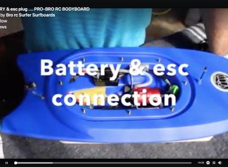 BATTERY & ESC plug