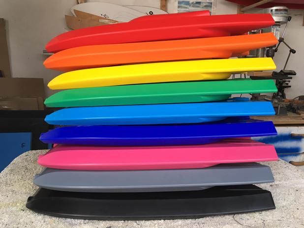 The Bro board colours