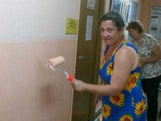 В Апрелевской школе искусств начался ремонт .
