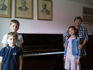 Новое пианино от депутата Московской областной Думы О.А. Рожнова