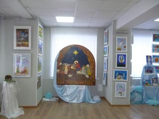 "Выставка работ на Фестивале ""Дорога к храму"""