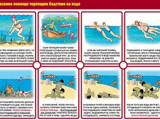 Оказание помощи терпящим бедствие на воде.