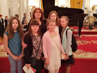 2-ой Международный молодежный фестиваль им.П.И. Чайковского в Кремлевском дворце