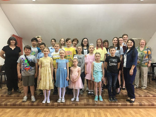 Концерт для учащихся Апрелевской СОШ №1