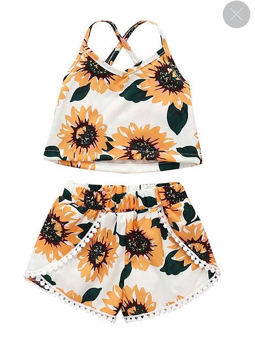 2 Piece Sunflower Set