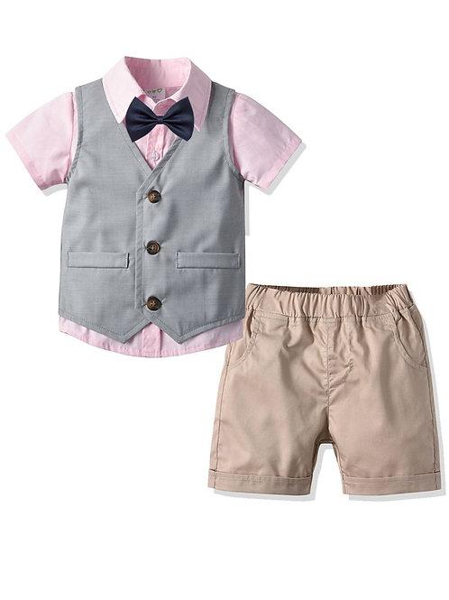 4 Piece Boys Casual Suit