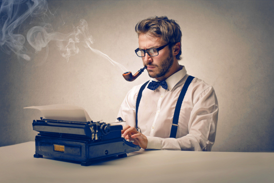 An author writing a letter to the Society of Authors