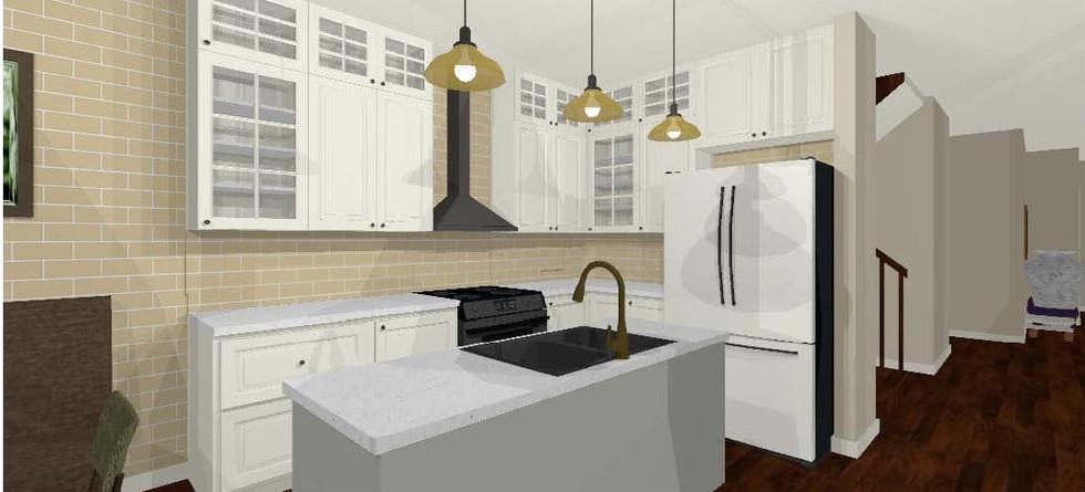 2D floor plan- kitchen 2 Full Camera Ima
