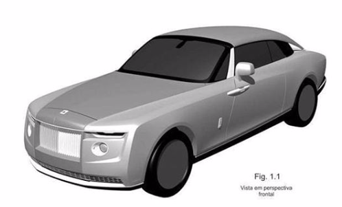 Leaked patents on a new exclusive Rolls Royce.