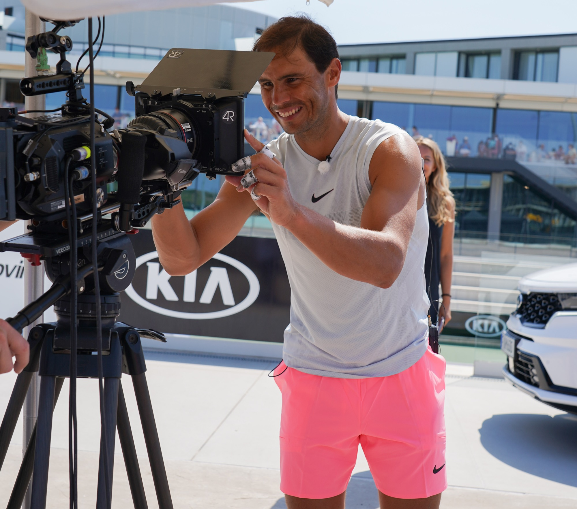 Kia and Rafael Nadal extend brand ambassador partnership.