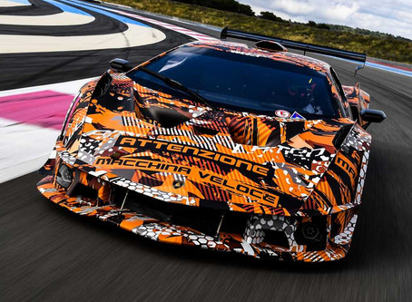 """Lamborghini SCV12: A track-attack """"HyperCar"""""""