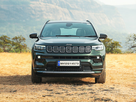 2021 Facelifted Jeep Compass Launched.