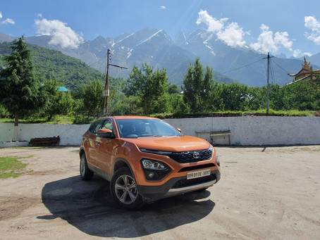 TATA Harrier - Rough Road Excellence