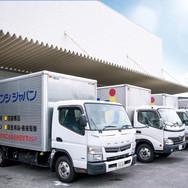 ブンシジャパン本社トラック