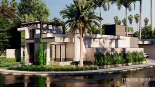 Construção Residencial - Reserva Flamboyant - Presidente Venceslau - SP