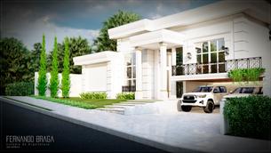 Residência Unifamiliar Clássica -  Condomínio Residencial Valência I