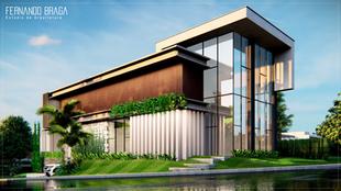 Estudo de Construção Residencial - Reserva Flamboyant - Presidente Venceslau - SP