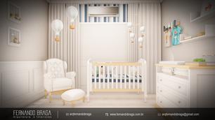 Quarto Infantil para Bebê  - Presidente Venceslau - SP