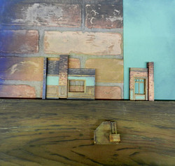 Model pieces with Paint Samples