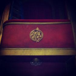 Opera Box Trompe L'oeil Detail