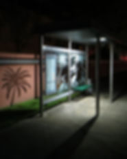 Miami Dade County Solar Bus Stop Lighting by EcoLiteco