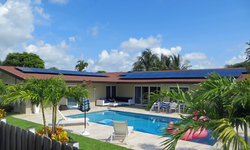Solar Home with Battery Backup