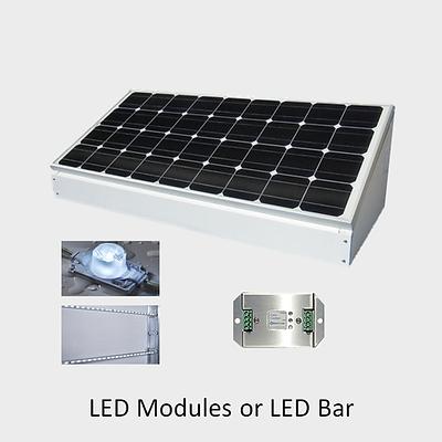 EcoLiteco Solar Backlit Sign Lighting Ki