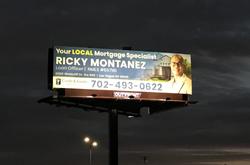 Las Vegas Solar Billboard Lighting