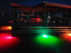 RGB Dock Lights Fort Lauderdale