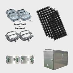 EcoLiteco Solar XL Roadway Guide Sign Li
