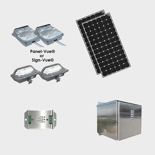 EcoLiteco Solar Roadway Guide Sign Lighting Kit