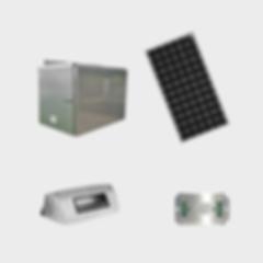 EcoLiteco Solar Pole-mount Transit-shelt