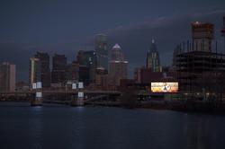 Solar Billboard in Philadelphia