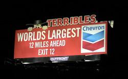 Solar Billboard Outside Las Vegas