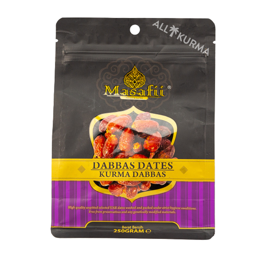 Masafii Dabbas 250g Front.png