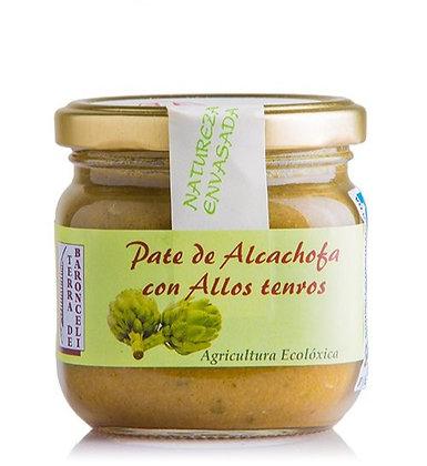 Paté Alcachofa con AjosTiernos