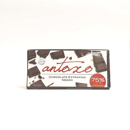 Chocolate Negro 75% Antoxo