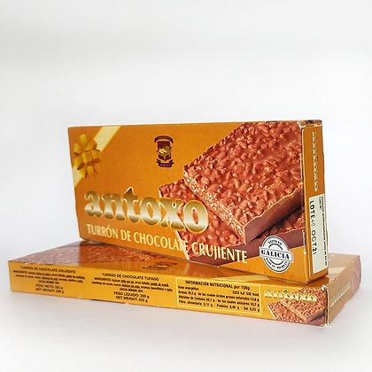 Turrón de Chocolate Antoxo