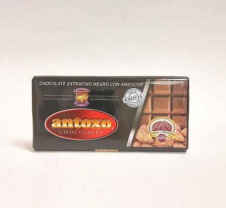 Chocolate Negro con Almendras Antoxo