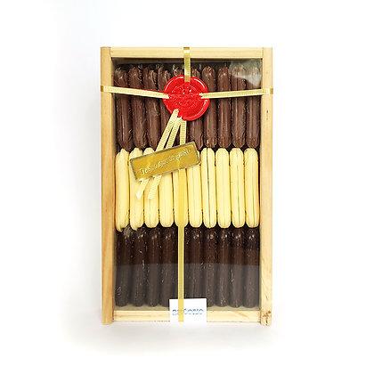Lenguas de Chocolate