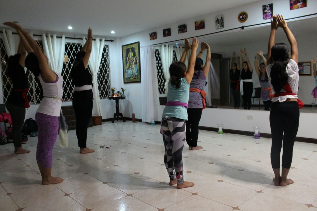 Acondicionamiento Odissi Dance