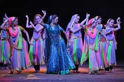 Bollywood-dance