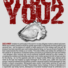 invitation to an oyster roast